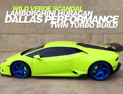 Wild Verde Scandal Lamborghini Huracan