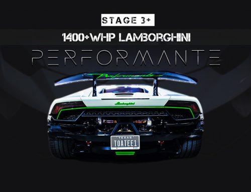 Dallas Performance Stage 3+ Twin Turbo Lamborghini Performante